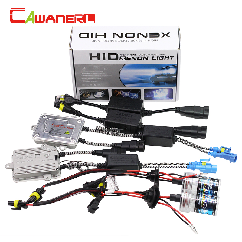 Cawanerl 55W 9006 HB4 Canbus HID Xenon Kit AC Ballast Bulb 3000K-12000K Anti Flicker Error Decoder Car Light Headlight Fog Lamp cawanerl h8 h9 h11 55w auto hid xenon kit bulb ac ballast canbus decoder anti error flicker 3000k 12000k car fog light headlight