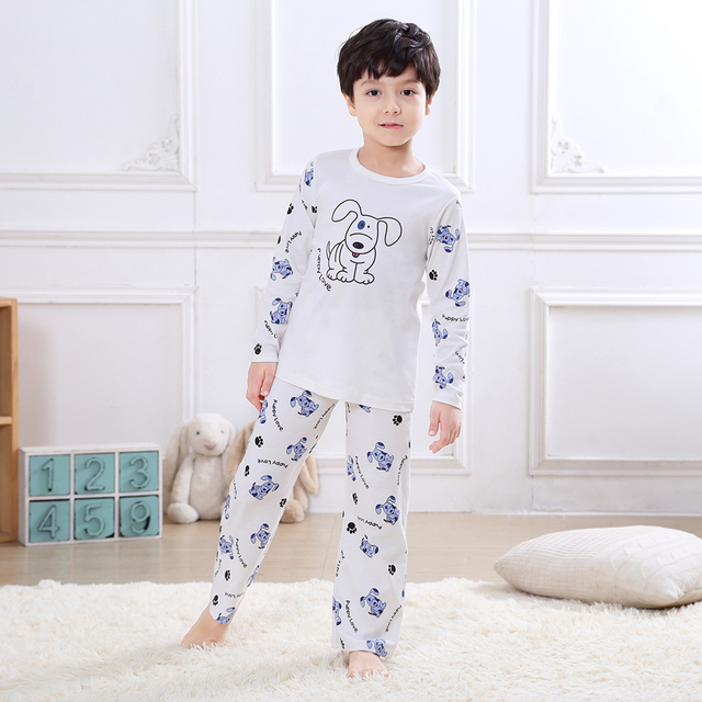 a01e7cd41a 2-6 Years-Old Children s Clothing Set Sleepwear Pyjama Kids Pajama Set  Night Wear Sleep Wear in 100% Cotton Knitted