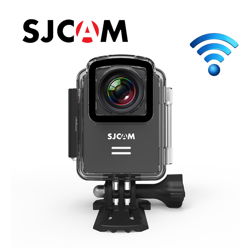 Original New SJCAM M20 Wifi Gyro Mini Action Sport-kamera 4 Karat 24fps 2 Karat 30fps NTK96660 16MP Fernbedienung Wasserdichte DV Mit RAW-Format image