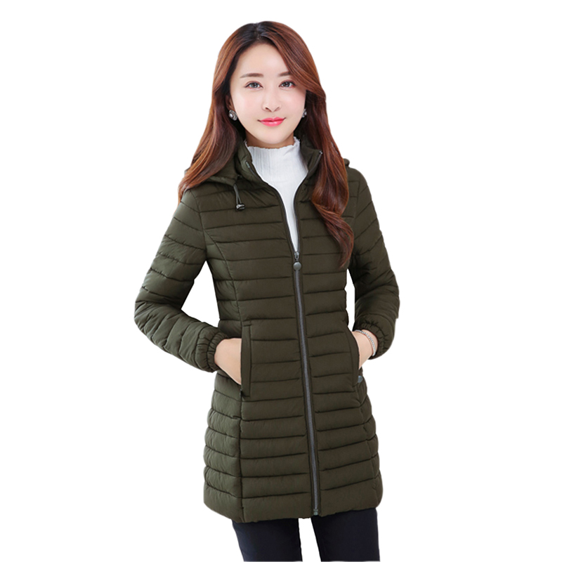 YAGENZ 2017 new cotton women in the thin section of the Korean version of the  thin coat jacket large size down jacket 2017 korean version of the thickening of female workers in the long coat lambskin coat winter coat large size coat