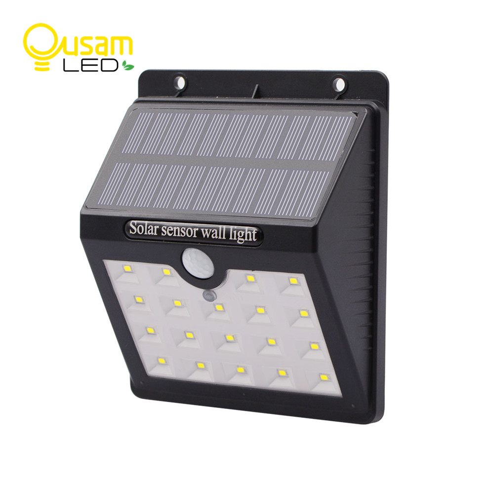 Solar Lights Lamp Outdoor LED Wireless Waterproof Wall outside Garden Lighting