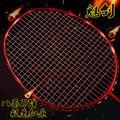1 pc de la raqueta de bádminton tipo de ataque de carbono raqueta de bádminton encanto de Sisal de formación raqueta 4U/G4