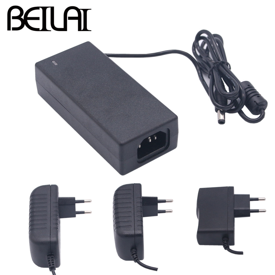 BEILAI <font><b>DC</b></font> <font><b>12V</b></font> Power Adapter AC100-240V To DC12V Lighting Transformers Output 1A 2A <font><b>3A</b></font> 5A Switching Power Supply For LED Strip image