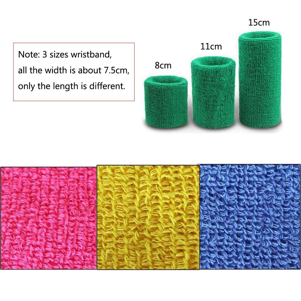 1 Pcs Volleyball Basketball Towel Wristbands Sports Sweatband Sweat Absorbed Wrist Support Brace Wrist Wraps Guards
