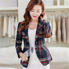 Fashion Women England Wind Slim Leisure Long Sleeve Coats Jackets