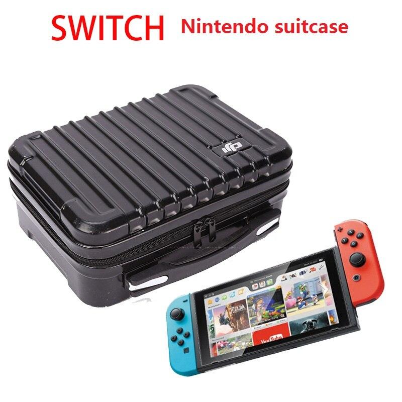 Nin-tendo Schalter Controller Koffer Portable Hard Shell Schutz Lagerung Tasche Alle-runde Anzug Zubehör Videospiele