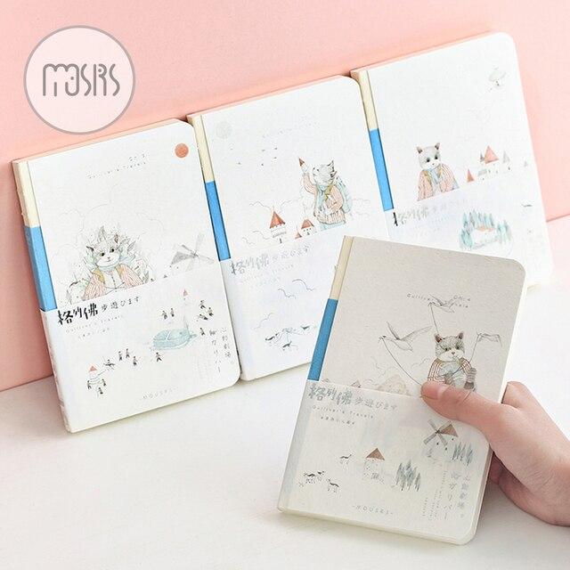 Новый Sketchbook живопись акварель мило Записные книжки школьный дневник 96 Простыни Эскиз книги для рисования Офис Школьные принадлежности подарок
