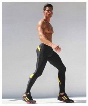 Pantalones deportivos de compresión para hombre 13c805093299