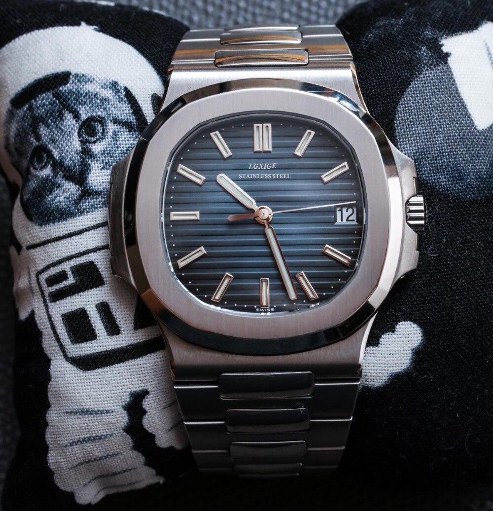 2018 Fashion Patek Quartz Watches Men Watches Top Brand Luxury Male Clock Business Mens Wrist Watch Hodinky Relogio Masculino