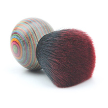 High-end colorful wood folk style makeup blush brush Beauty make upTools maquillage brush pincel maquiagem
