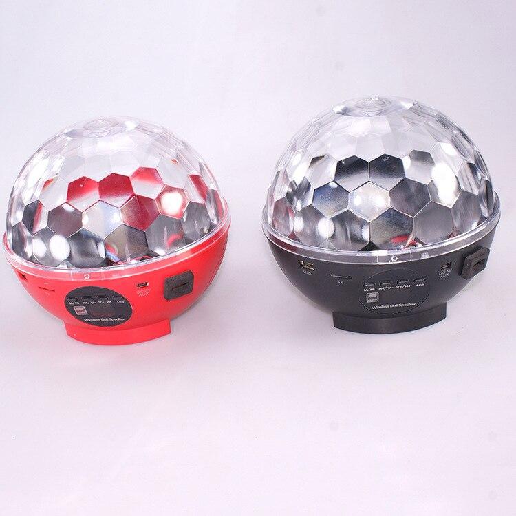 LED sound control crystal magic ball stage lights KTV room bar colorful revolving lights