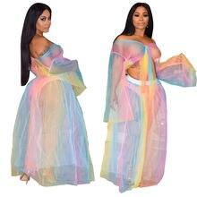 Пляжное платье купальник сексуальный прозрачный сетчатый комплект