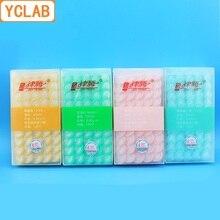 YCLAB 100PCS מזרק מסנן חד פעמי קוטר 25mm צמצם 0.22/0.45/0.8um MCE Nylon66 PTFE PVDF (מתנת 1 פלסטיק סמפלר)