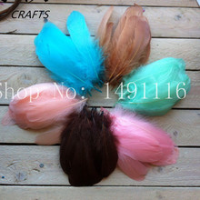 20 pcs beautiful geese feathers, 5-8