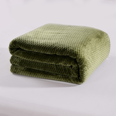 New Blankets High Density Super Soft Flannel Blanket to on for Bed/Car Portable Plaids bedspread manta para sofa koc narzuta