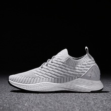Hot sale 2019 New Trend Spring Summer Running Shoes Men Sneakers Breathable Mesh Shoes Male Eva Sport Outdoor walking shoes