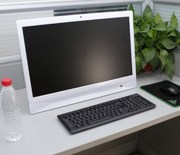 OEM 18.5 21.5 23.5 27 Inch PC CPU I3i5i7 Quad-core 4G RAM,500GB HDD Touch Interactive Wireless All In One Computer Pc Desktop