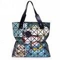 2017 El Más Nuevo Geométrica Rhombus Totes Mujeres Bolso de La Vendimia Mujer Bolsa de Impresión Casual baobao Bolso de Hombro bolsos 1 unids/Lo