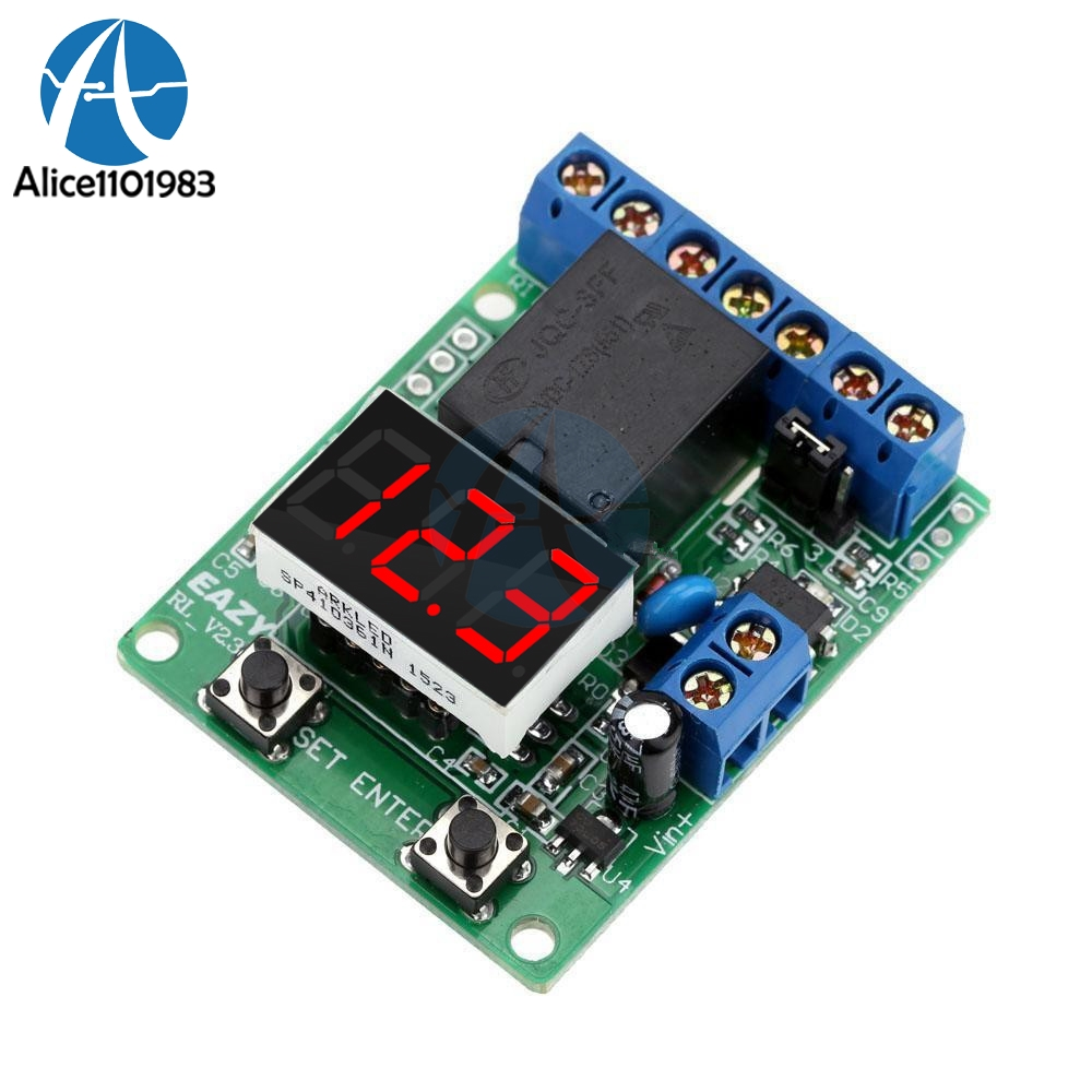 Relay Module DC 12V Relay Switch Control Board Module Relay Module Voltage Detection Charging Discharge Monitor TestRelay Module DC 12V Relay Switch Control Board Module Relay Module Voltage Detection Charging Discharge Monitor Test