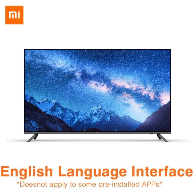 Xiaomi TV à affichage complet E 55A 4K 55 pouces le nouveau Smart TV 2GB 8GB 64 bits 4 processeur en pierre intégré Xiaoai haut-parleur patchwork TV
