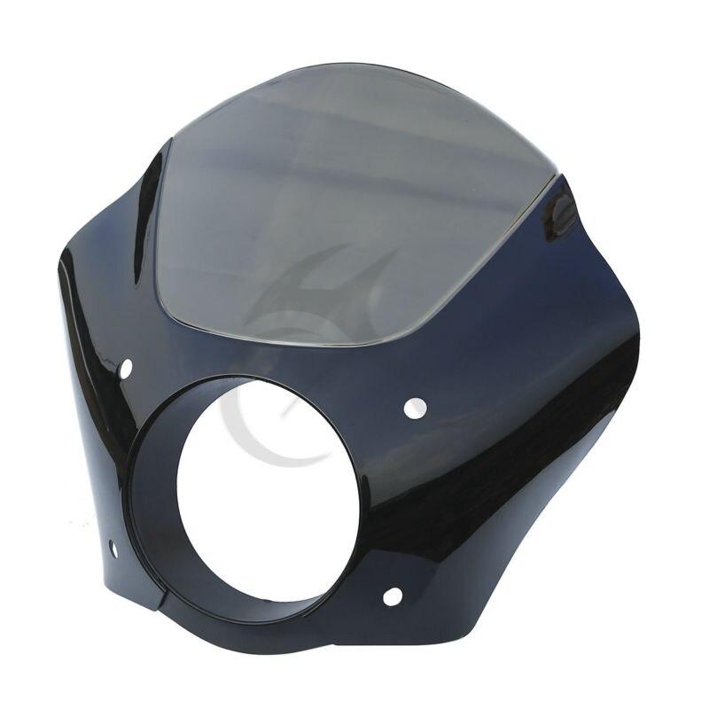 黒煙ガントレットヘッドライトフェアリング用フェアリング % 2 スポーツスター XL ストリート XG 500 750  グループ上の 自動車 &バイク からの カバー & オーナメント作り の中 3