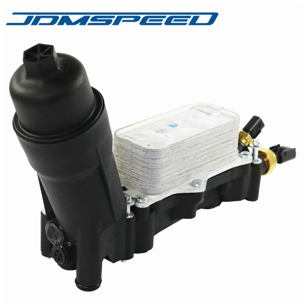 Livraison gratuite-JDMSPEED adaptateur de boîtier de filtre à huile 68105583AF 68105583AC pour Jeep Dodge Chrysler Ram 3.6 V6 2014-2017