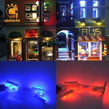 цена на LED Building Blocks Parts For Compatible with Lego and Lepin Brand Building Block Bricks Model Building Toys