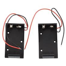 9V Cells Battery Holder Cell Box DIY Battery Case With Lead Wires(China)