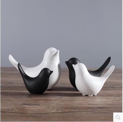 Bird crafts, home decorations, desktop accessories, creative wedding decoration small gifts 2