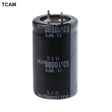 63V 10000UF Lengthy Life Excessive-frequency Electrolytic Capacitor Sturdy Capacitors-M35