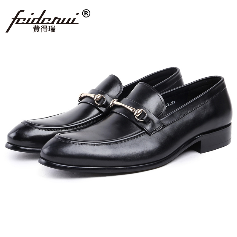 New Vintage Man Handmade Moccasin Shoes Genuine Leather Round Toe Slip on Loafers Height Increasing Men's Casual Footwear JS53 new vintage handmade round toe man comfortable casual shoes genuin leather slip on formal designer men s moccasin loafers js49
