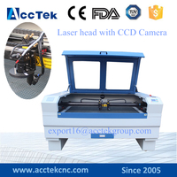 1610 1390 3d co2 laser engraving cutting machine with CCD Camera for Acrylic wood mdf plastic leather granite stone