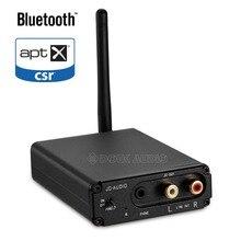 Douk аудио HiFi Bluetooth 5,0 аудио приемник Цифровой ЦА-преобразователь в аналоговый конвертер OPT коаксиальный APT-X