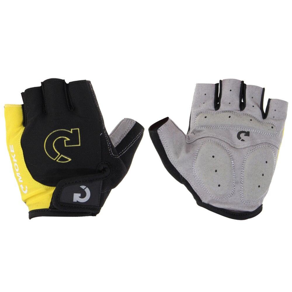 Cool Unisex Cycling Gloves <font><b>Men</b></font> Sports <font><b>Half</b></font> <font><b>Finger</b></font> <font><b>Anti</b></font> <font><b>Slip</b></font> Gel Pad <font><b>Motorcycle</b></font> MTB Road <font><b>Bike</b></font> Gloves S-XL <font><b>Bicycle</b></font> Gloves 4 Colors