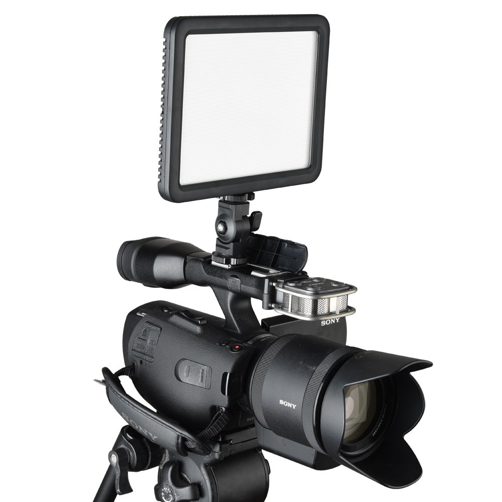 GODOX Ultra Slim Led Video Light LED P120C Led Lamp Fill Light Photography for Nikon Canon Digital Camera Camcorder DV godox professional led video light
