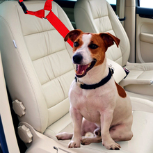 Dog Collars Leads Adjustable Handle Vehicle Car Seat Belt Pet Dogs Seatbelt Harness Lead Clip Safety Traction Products