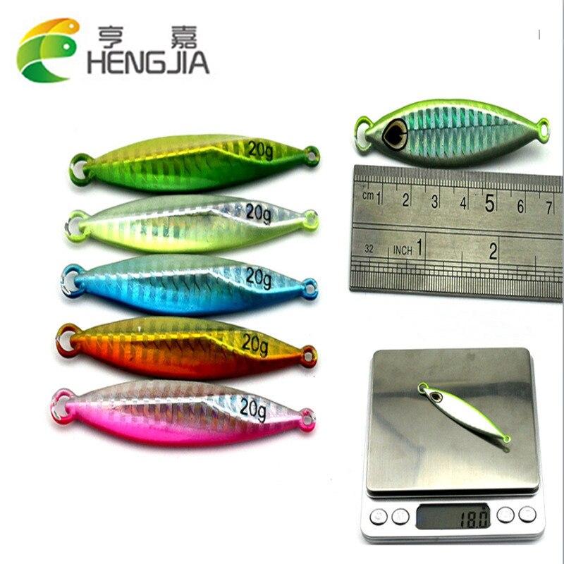 Nueva llegada de la venta caliente 5 unids / lote 20 G 40 G señuelo - Pescando
