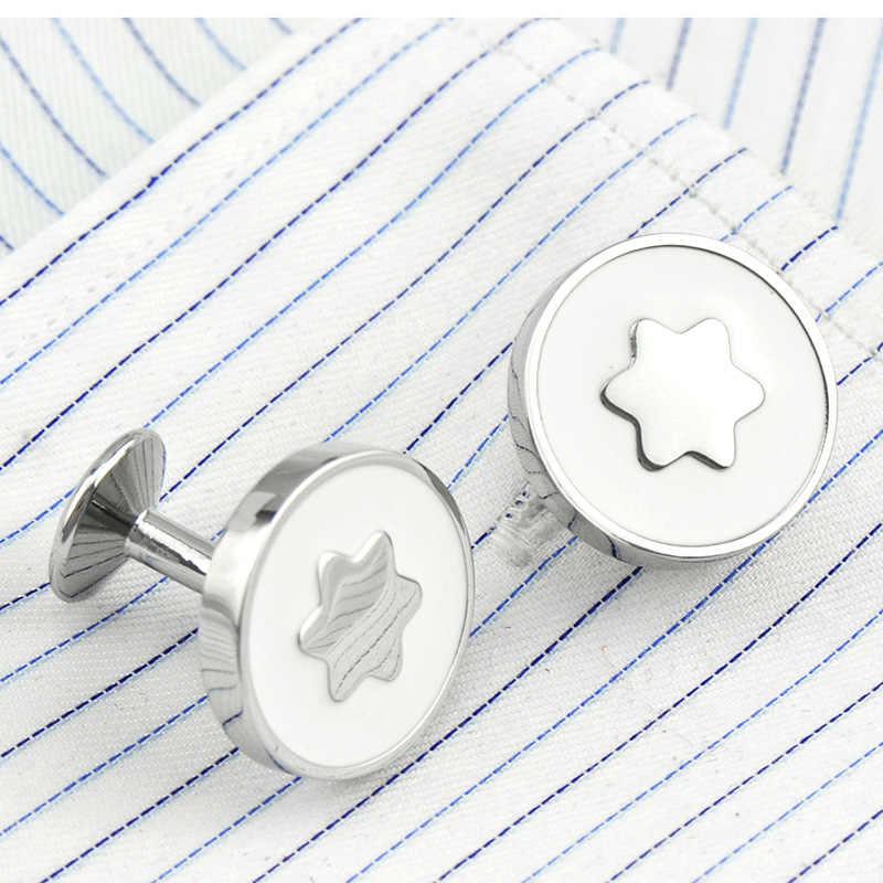 FLEXFIL роскошные Запонки рубашки для мужчин бренд манжеты Пуговицы Запонки Gemelos высокое качество круглые свадебные запонки ювелирные изделия