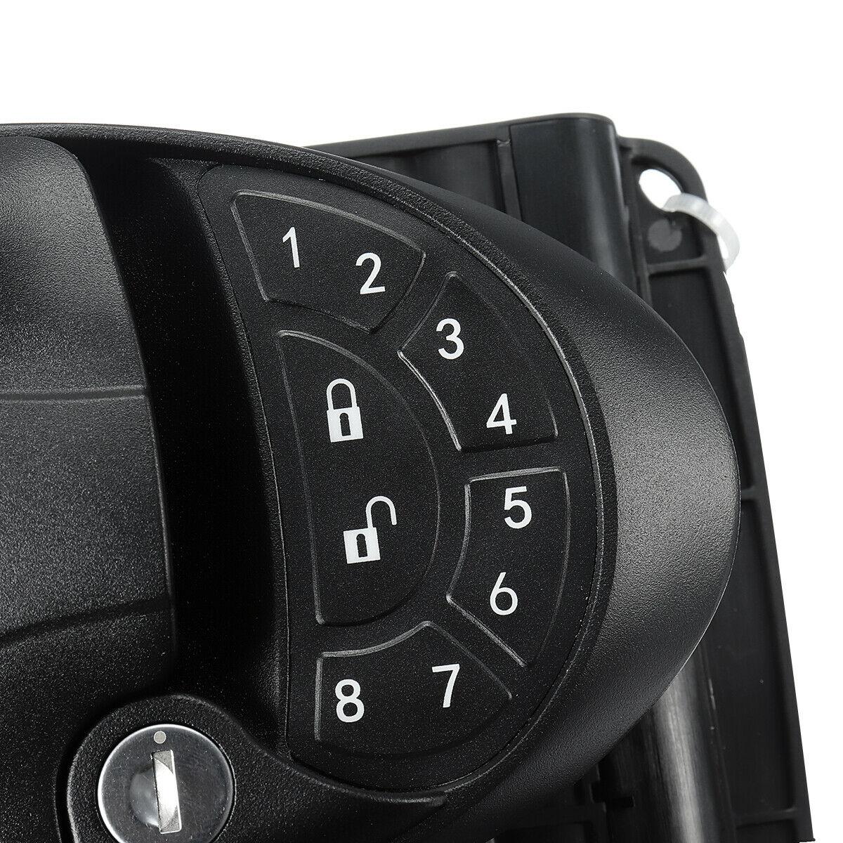 Bouton de poignée de verrouillage de porte d'entrée sans clé RV