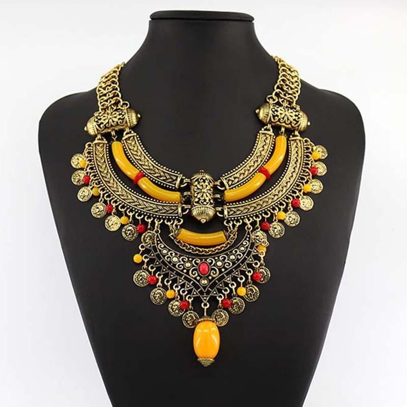 coin necklace design
