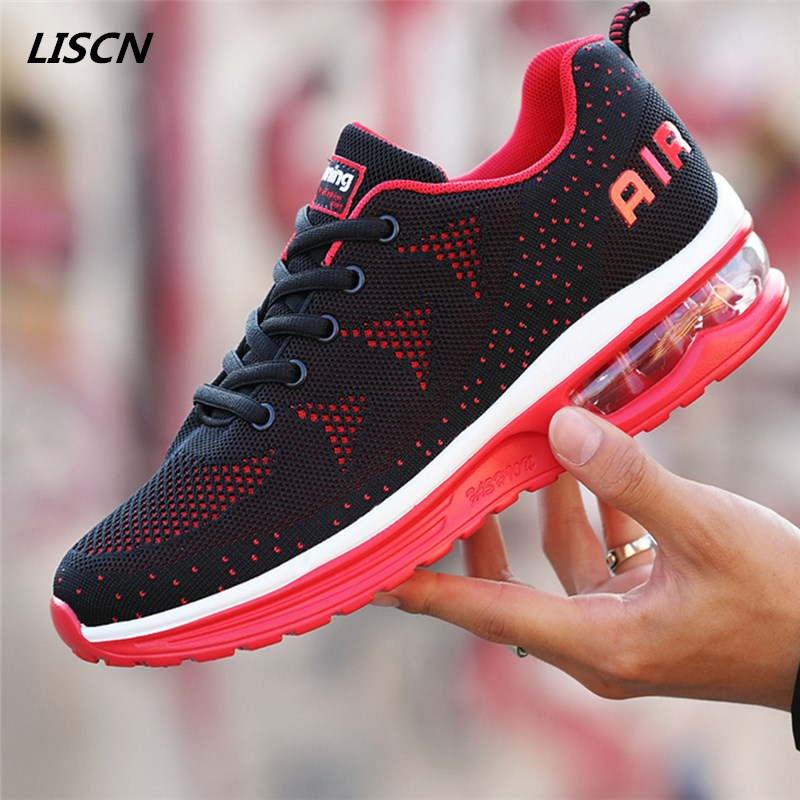 New Summer Sneakers For Women Cushioning Breathable mesh Air dampingGymnastic Shoes Woman Outdoor Woman Casual shoes air mesh breathable hook