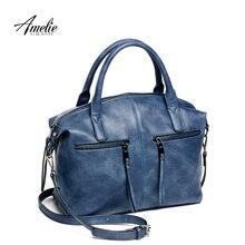 Amelie galanti твердое подушкой сумочку экологичный посыльного материал плечо pu моды