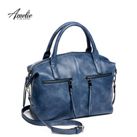 AMELIEGALANTI Brand New Fashion Women Tote Bag With A Pillow Bag High Quality PU Leather Handbag