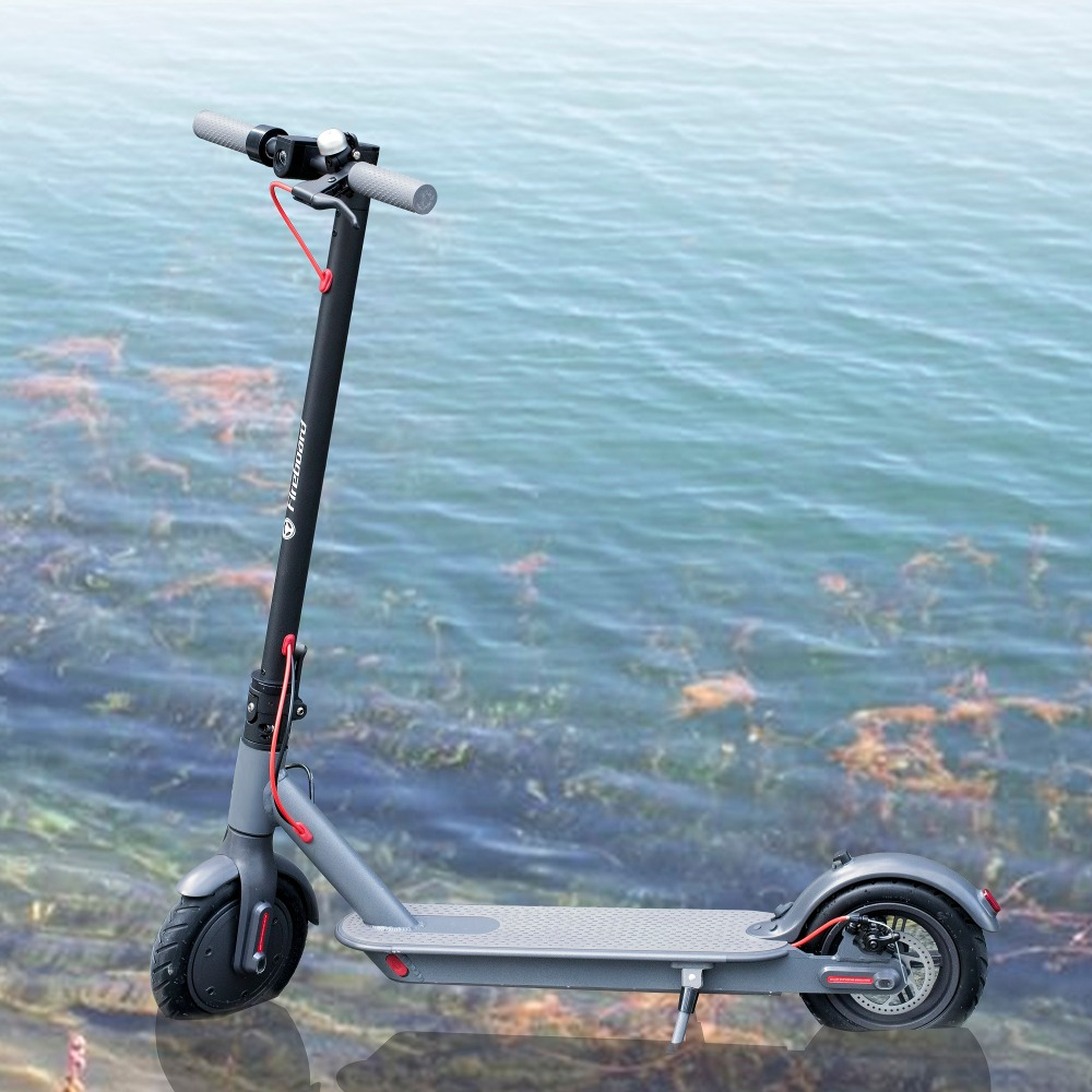 все цены на SUPERTEFF EW6 electric scooter 300W motor two wheel electric scooter folding scooter smart App electric scooter easy to carry