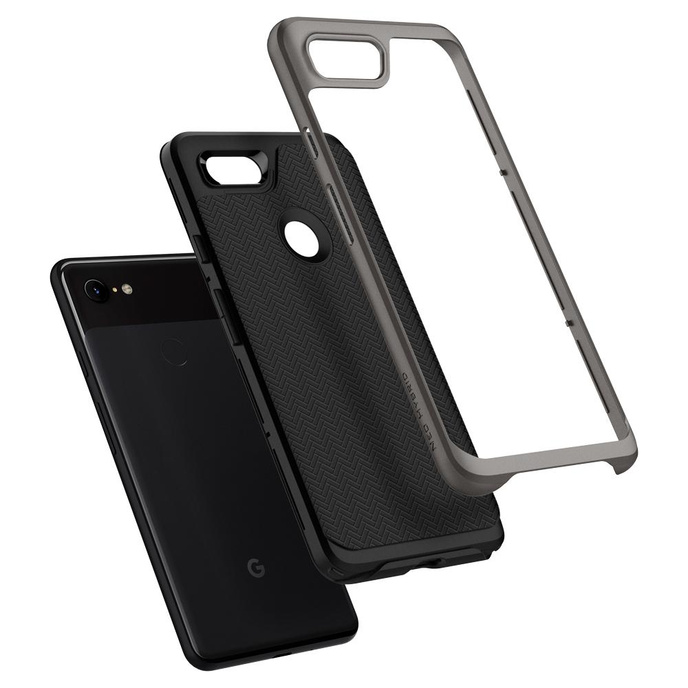 100% Original SPIGEN Google Pixel 3 / 3 XL Case Neo Hybrid Dual Layer  Protection Anti-Slip MIL-STD Drop Resistance Cases