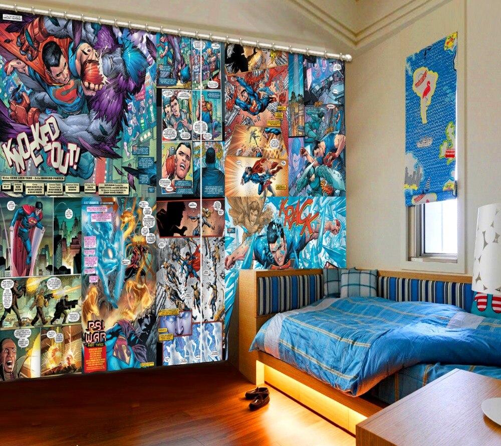 Dessin animé rideaux
