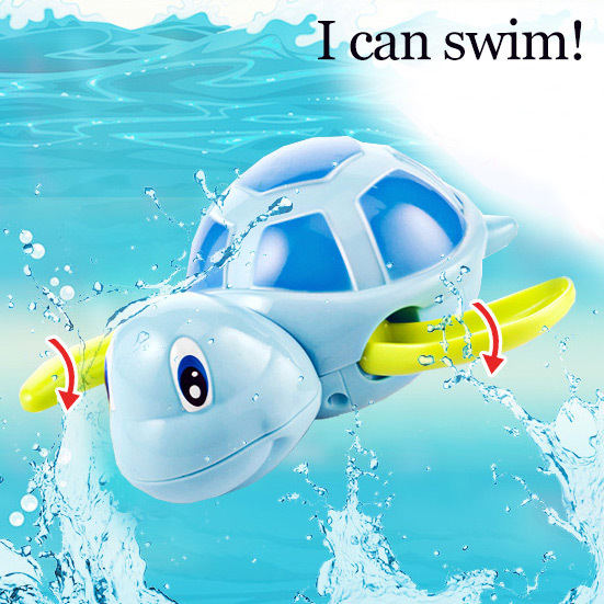Baby bath bathing swim clockwork toy turtle toys for children small animals 1 piece носки низкие toy machine turtle ankle page 1