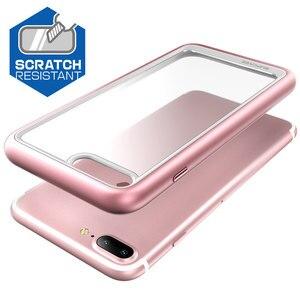 Image 4 - Supcase para iphone 7 plus caso (2016 de liberação) ub estilo premium fino híbrido protetor pára tpu clara capa traseira caso