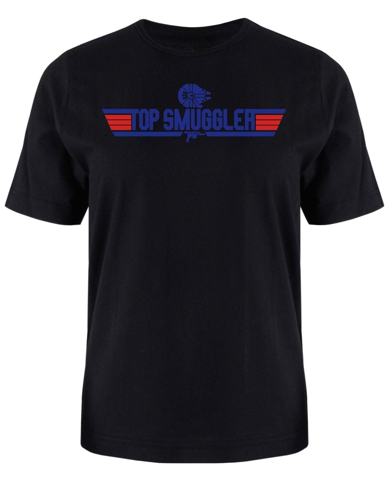 Top Smuggler Han Solo T Shirt Star Wars Inspired Men 39 s Tee Shirt Free shipping Harajuku Tops Fashion Classic Unique in T Shirts from Men 39 s Clothing