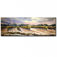 100% hand painted modern decorative oil painting on canvas farm pastoral scenery 15121103